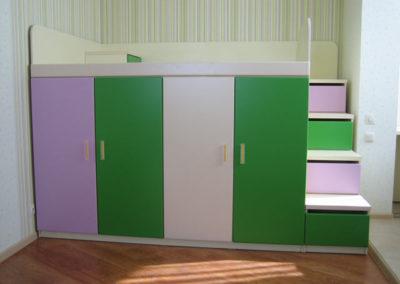 Мебель в детскую на заказ 12