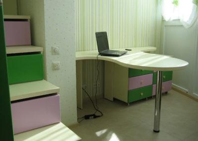 Мебель в детскую на заказ 11